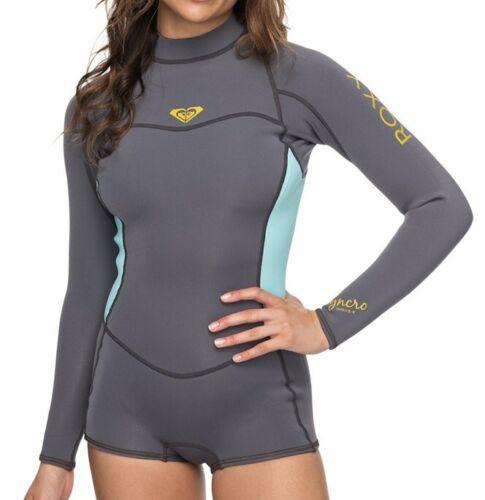 NWT ROXY Women/'s 2//2 SYNCRO BZ L//S BOOTIE Springsuit Size 8 XGGB