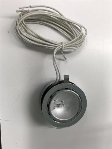 WAC HR-88-CH Under Cabinet Light Round Low Voltage Halogen Button Puck Chrome