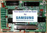 PN64F8500 Y-MAIN LJ41-10331A, LJ92-01935A, BN96-25216A No Picture REPAIR SERVICE