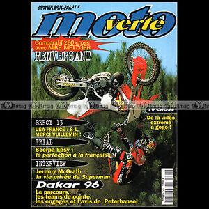 MOTO-VERTE-N-261-b-MIKE-METZGER-JEAN-MICHEL-BAYLE-YAMAHA-YZ-WR-250-KTM-SX-1996