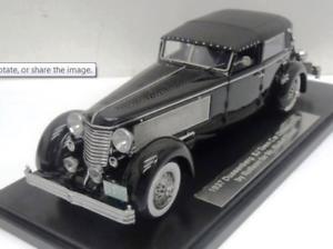 Esval 1937 Duesenberg SJ Town Coche 2405 rollson Top Up 1 43