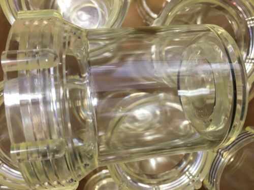 """Lot Of 2! Clear Bowl 1 1//4/"""" to 1 1//2/"""" For Sewer Hydro Jetter *Fits US Jetting"""
