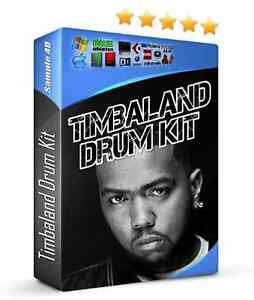 Timbaland Drum Samples Hip Hop MPC FL Studio 808 Sounds Reason Cubase Abelton