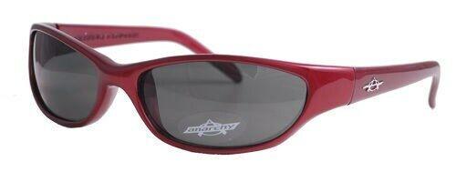 new Anarchy Sunglasses Blacken Crimson Grey Lens