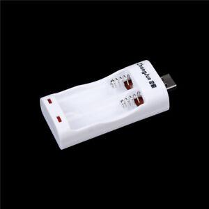1Pcs-USB-Ladegeraet-fuer-AA-und-AAA-Batterie-2Ports-Ladegeraet-XJ