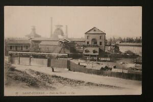 Postcard-Antique-Saint-Etienne-Well-of-The-Winch