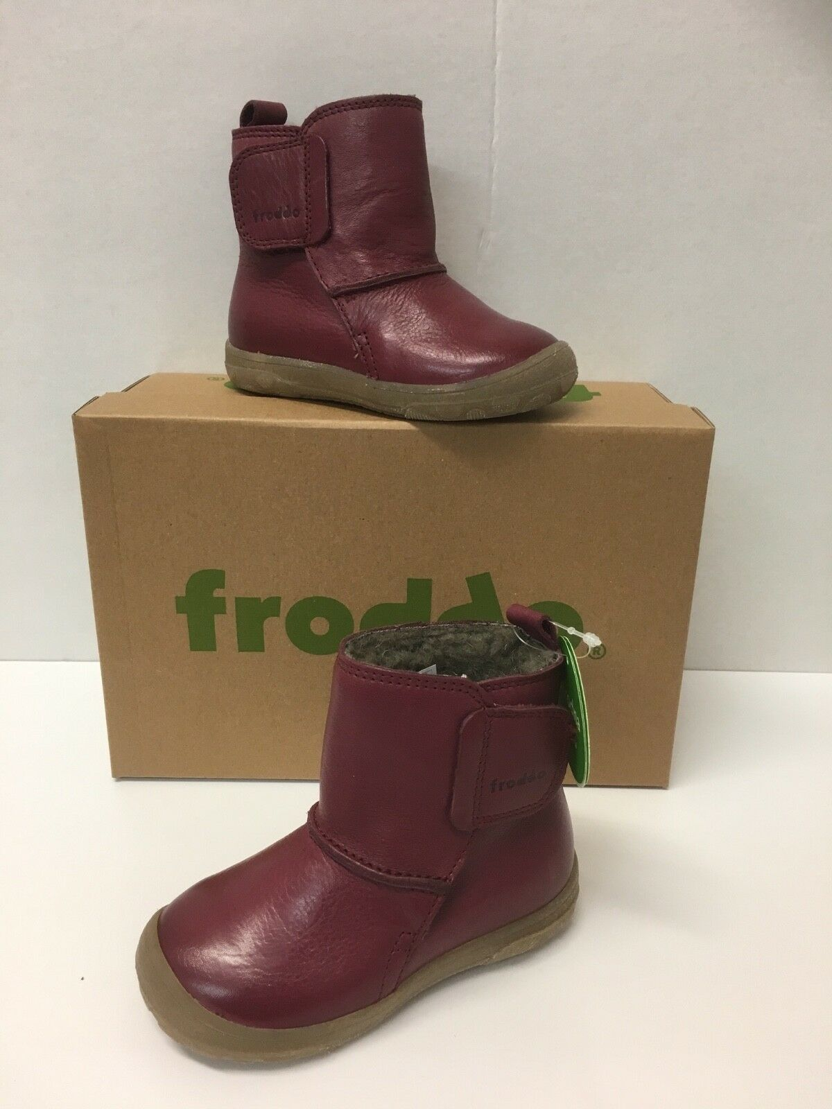G2160051-4 With wool lining Froddo Girls Waterproof Ankle Boots In Bordeaux