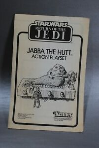 INSTRUCTIONS-VINTAGE-STAR-WARS-JABBA-THE-HUTT-ACTION-PLAYSET-KENNER-insert