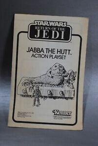 INSTRUCTIONS-VINTAGE-STAR-WARS-JABBA-THE-HUTT-ACTION-PLAYSET-KENNER-insert