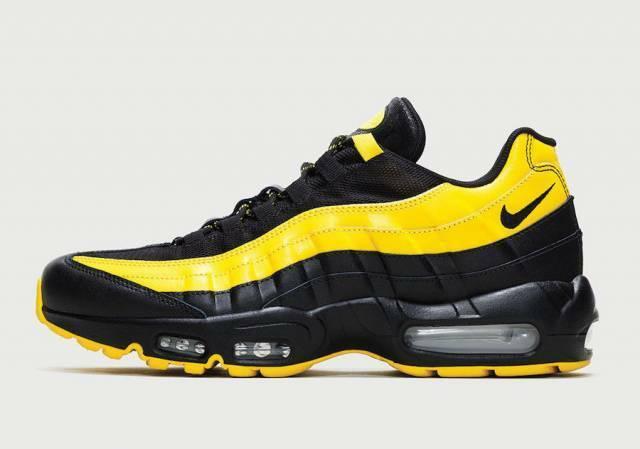 Nike Air Max 95 Frequency Pack Tour Yellow White Black Running Men's AV7939 001
