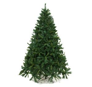 Albero Di Natale Slim 240.Albero Di Natale Sintetico Florida 240 Cm Folto Verde Effetto Reale 1581 Rami Ebay