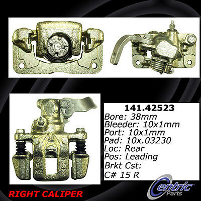 Disc Brake Caliper-Premium Semi-Loaded Caliper Rear Right fits 84-87 Maxima