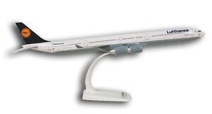 Lufthansa-Airbus-A340-600-1-200-Limox-Wings-LX003-FlugzeugModell-NEU-340-LH-A346