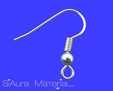 10//50x Ohrstecker 4 6 8 mm Klebeplatte Fläche silber gold Ohrring selber basteln