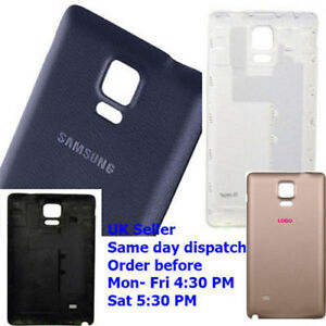 huge discount 95120 6d657 Details about Samsung Galaxy Note 4 N910 Rear Battery Back Cover Housing  case OEM Note4 N9100