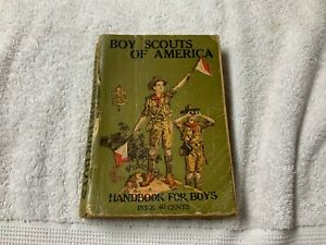 Boy-Scouts-Official-Handbook-for-Boys-32nd-Edition-May-1925