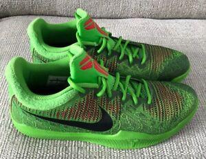 Nike-Kobe-Mamba-Rage-Grinch-Green-Basketball-Trainers-RARE-DEADSTOCK-SIZE-10UK