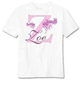 Personalizado-Unicornio-Camiseta-Regalo-Precioso-para-Ninas-Tallas-1-12