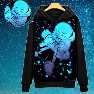 Game Undertale Sans Winter Warm Pullover Sweatshirt Hoodie Jacket Coat #Y330