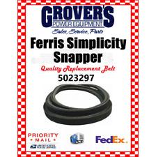 "Ferris Deck Belt Part # 5023297 or 23297 Fits Is1500 W/ 48"" Deck"