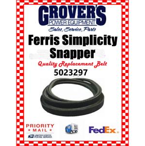 Details about FERRIS Deck Belt Part # 5023297 or 23297 Fits IS1500 w/ 48