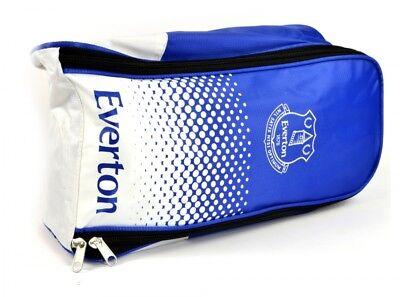 Cordiale Everton Fc Stivali Dissolvenza Calcio Borsa Partita Blu Bianco Distintivo