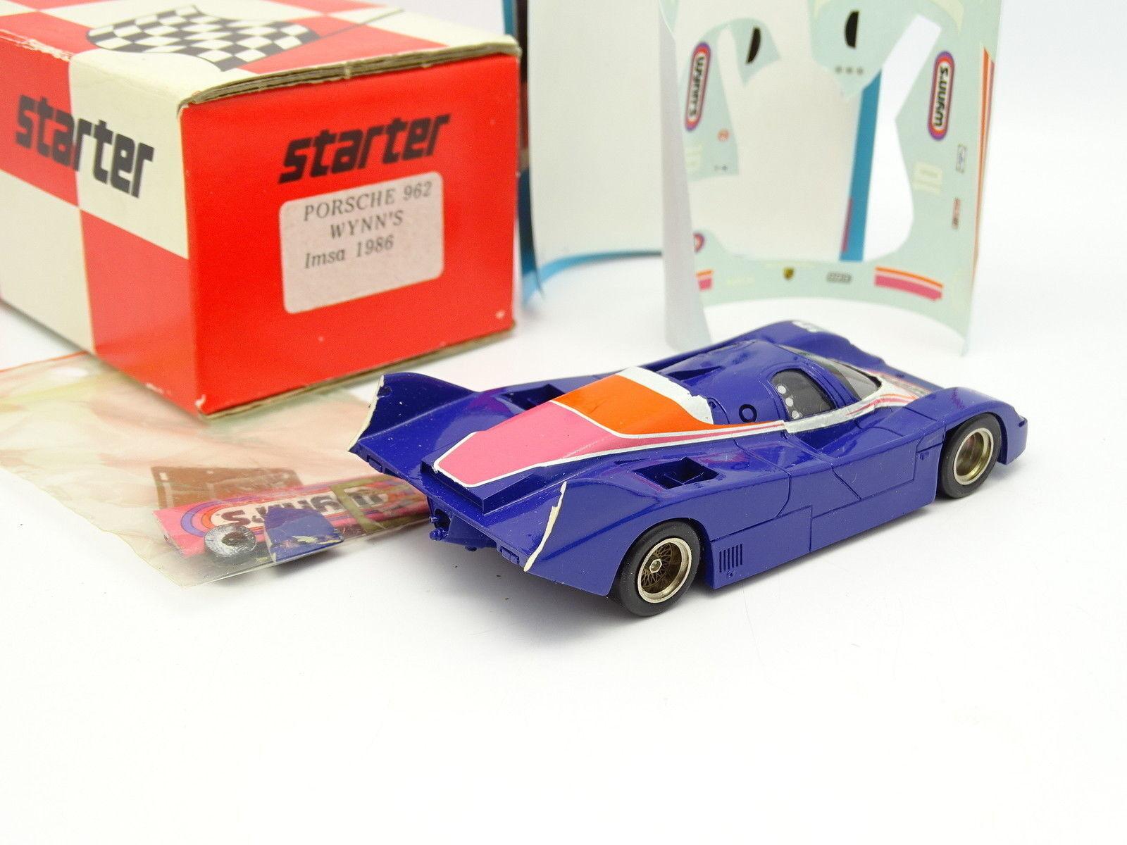 Starter Kit à Monter 1 43 43 43 - Porsche 962 Wynn's IMSA 1986 cffe76