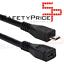 Cable-de-extension-alargador-Micro-USB-25cm-macho-hembra miniatura 2