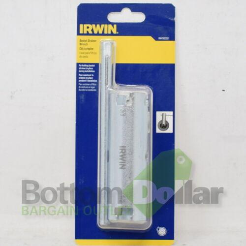 Irwin IRHT82251 Drain Removal Basket Strainer Wrench