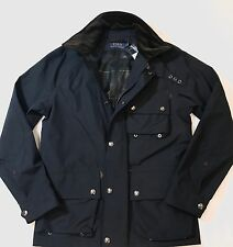 POLO RALPH LAUREN MENS M DRIVER COLLECTION WATERPROOF UTILITY JACKET NWT495 SM.