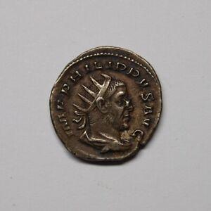 Roemisches-Reich-244-256-Antoninian-2-Reiter-M2839