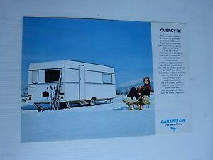 Catalogue-prospectus-caravanes-CARAVELAIR-modele-quercy-2-des-annees-60