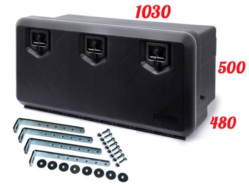 SUPPORTS Boîte De Rangement Camions à outils DAKEN 1000 Coffre a outils 154 L