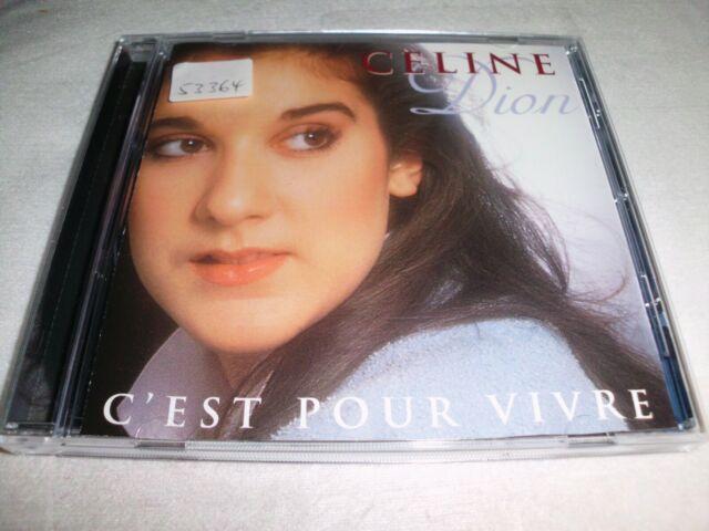 Celine Dion - C'est pour vivre -  CD gebraucht   gut