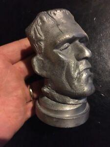 Frankenstein-Bottle-Opener-Solid-Metal-Patina-Finish-G-Vg-Antique-Style-1Lb-Vg