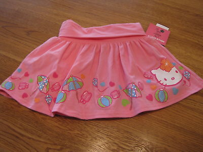 Girls Hello Kitty Dots Bows HK56149 skort 5 pink NWT^^