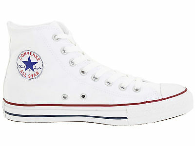 Converse All Star Chuck Taylor White Hi Top Canvas New In Box Unisex M7650