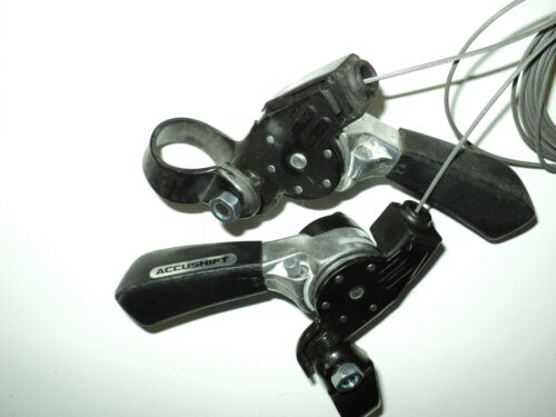 New NOS 6 Speed Indexed With Friction Suntour Accushift Shifters