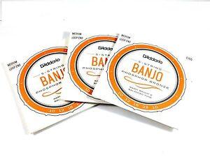 D-039-Addario-Banjo-Strings-3-Sets-EJ55-formerly-J55-Phosphor-Bronze-Med