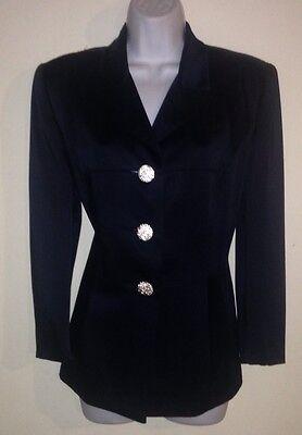 Kelly Graham Navy Blue Blazer Size 8