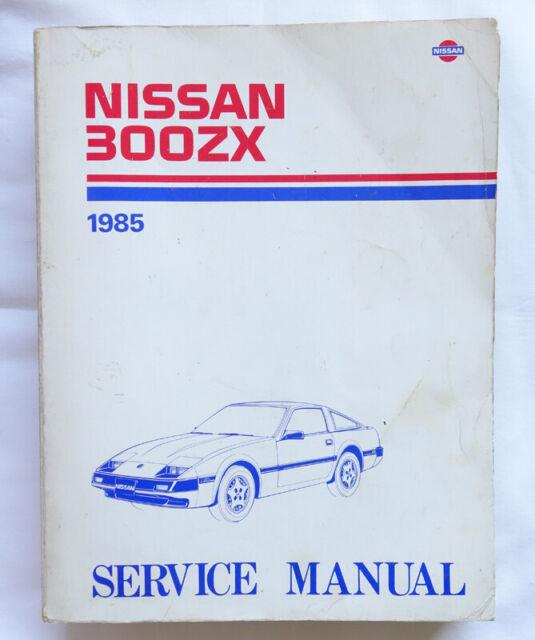 1985 Nissan 300zx Service Manual Model Z31 Series Shop