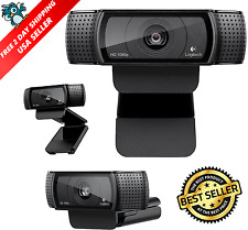 Logitech C920 Pro Stream Webcam 1080P Camera for HD Video Streaming Recording