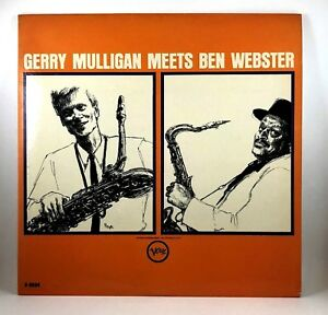 Gerry-Mulligan-meets-Ben-Webster-Jazz-LP-Mono-Rare-V-8534