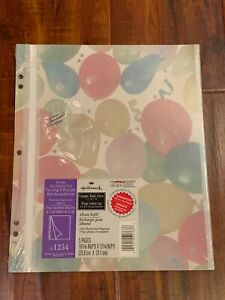 Hallmark baby memory book refill pages