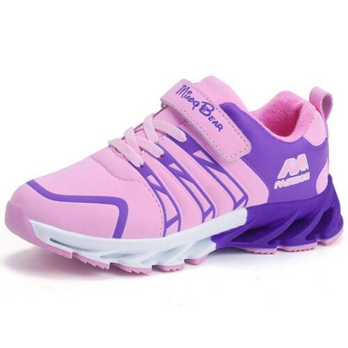 Kids Boys Girls Sport Athletic Running Sneakers Comfy School Trainers Shoes Size
