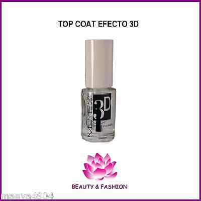 TOP COAT 3D VOLUME  ET BRILLANCE 10 ML VERNIS FAUX ONGLES NAIL ART