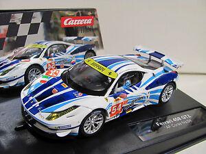 Carrera-Evolution-27481-Ferrari-458-GT2-034-AF-Corse-034-No-54-NEU-und-OVP