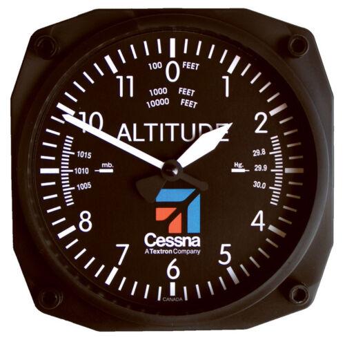 "CES-9060 6/"" Aviation Wall Clock by Trintec Cessna Altimeter"