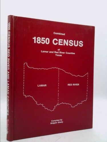 Combined Census of Lamar and Red River Counties, Texas, 1850