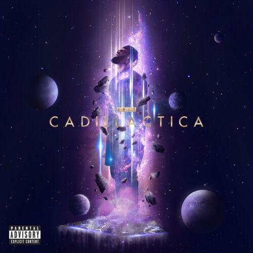 """Big K.R.I.T Cadillactica Cover Poster Album Art Print 12×12 20×20 24×24/"""" 32×32/"""""""
